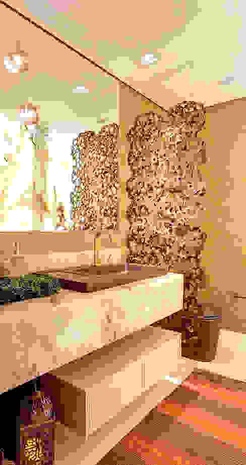 Ванная комната в стиле модерн от Marcia Debski Ferreira Designer de Interiores Модерн