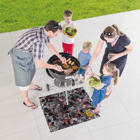 Tapis de protection barbecue FIRE par ITAO Éclectique