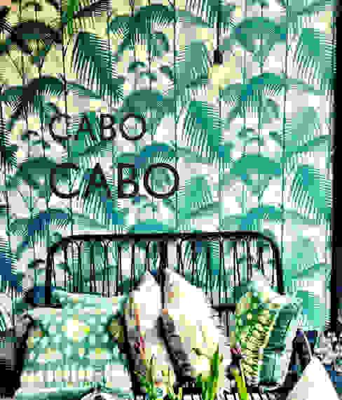 CABO CABO Marisa Balcon, Veranda & Terrasse tropicaux