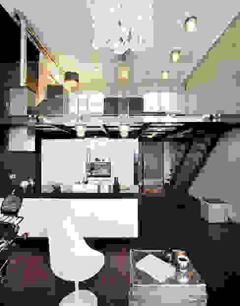 Modern kitchen by justyna smolec architektura & design Modern