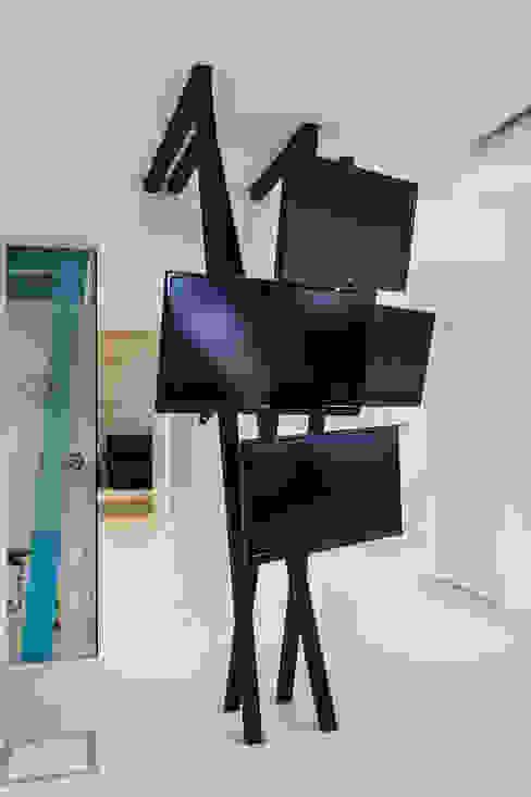 Agencia de Comunicación de Estudio Sespede Arquitectos Moderno Vidrio
