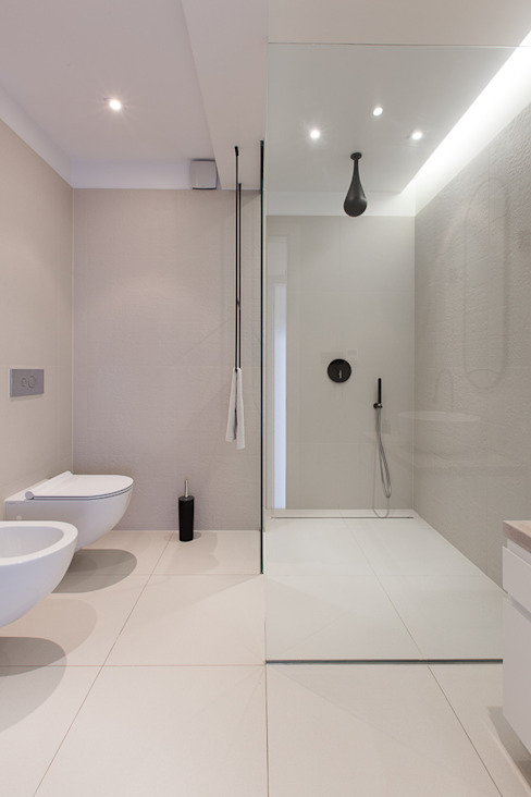 miniszyk Minimalistyczna łazienka od unikat:lab Minimalistyczny