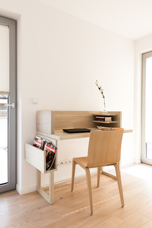 miniszyk: styl , w kategorii Sypialnia zaprojektowany przez unikat:lab,Minimalistyczny