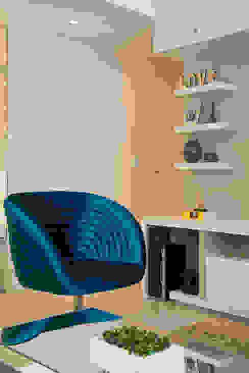 Apartamento Bento por Camila Chalon Arquitetura Moderno