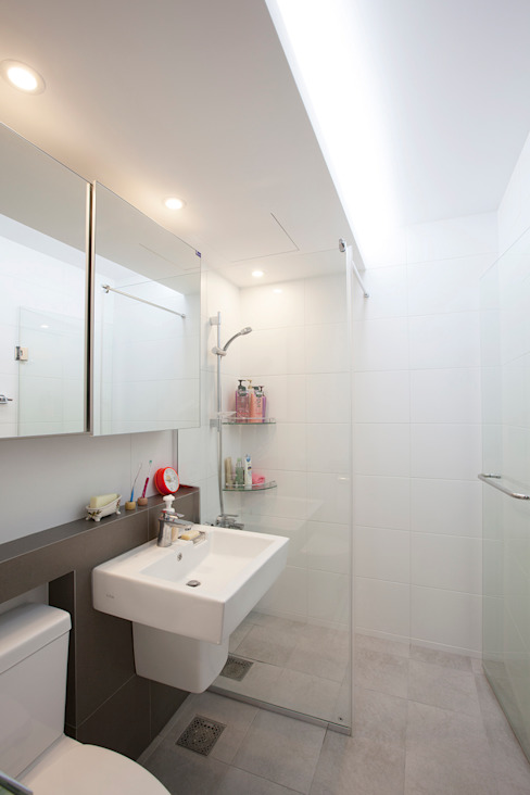 Modern bathroom by MID 먹줄 Modern