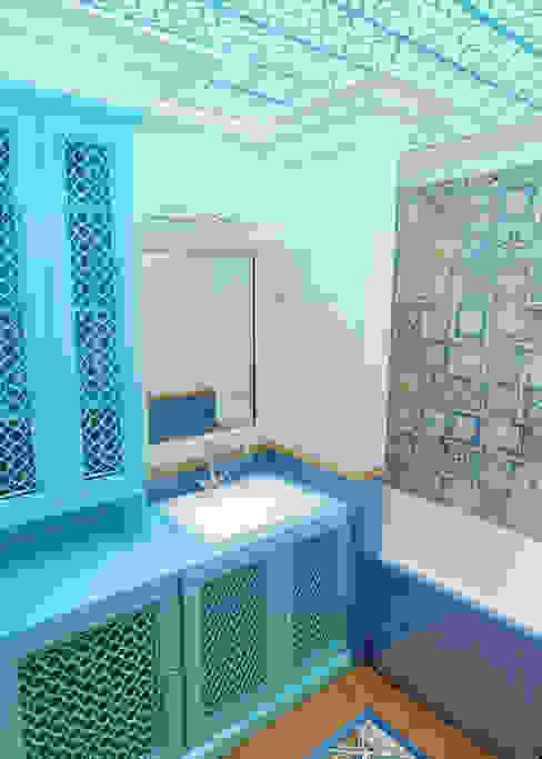 Eclectische badkamers van Сидорова Юлия Eclectisch