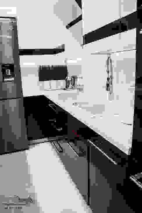 Mieszkanie w Wysokim Mazowiecku : styl , w kategorii  zaprojektowany przez EnDecoration,Nowoczesny