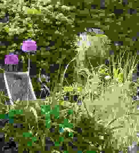 Bristol city garden in spring Modern garden by Karena Batstone Design Modern