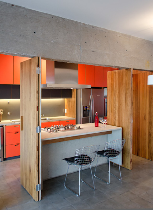 Vereda Arquitetos Dapur Modern
