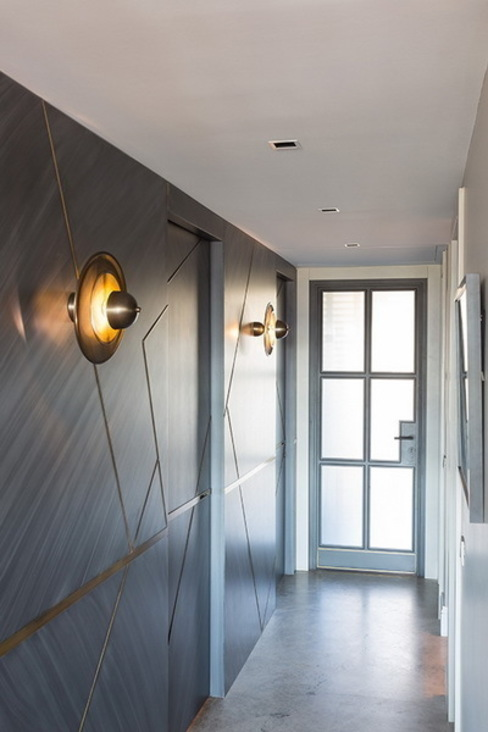 DVI RESIDENCE Modern Koridor, Hol & Merdivenler Esra Kazmirci Mimarlik Modern