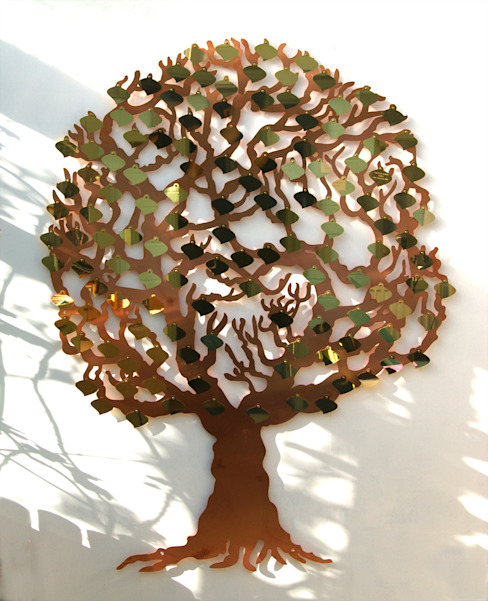 The Love Tree - Donor Tree & Fundraising Plaques di homify Rustico