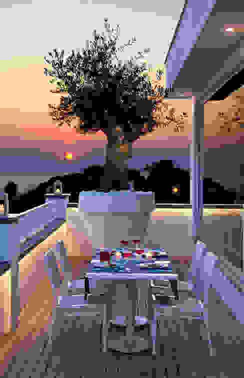 Terrazzo di PDV studio di progettazione Mediterraneo