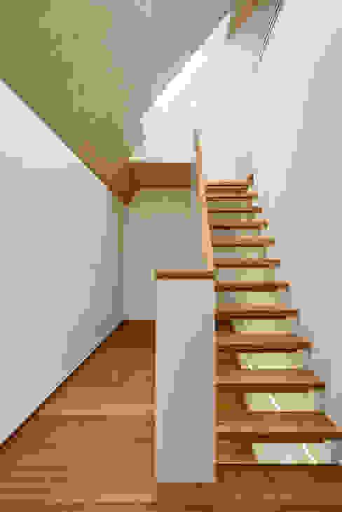 Nowoczesny korytarz, przedpokój i schody od Schwarz & Schwarz dipl. Architekten SIA Nowoczesny