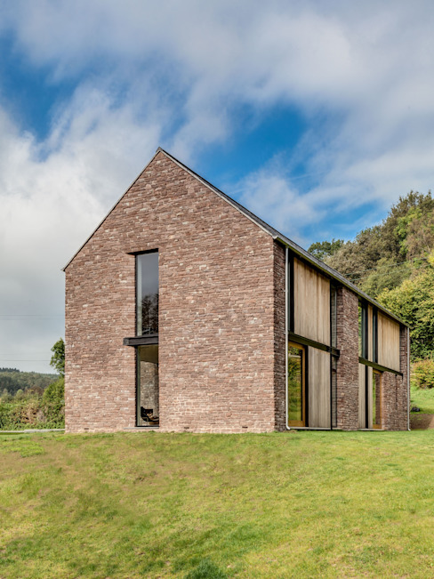 The Nook Casas modernas de Hall + Bednarczyk Architects Moderno