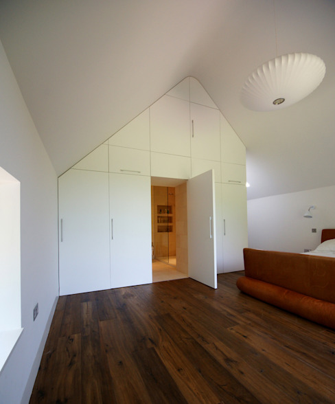 Bedroom by Hall + Bednarczyk Architects, Modern