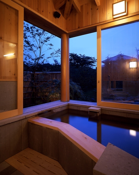 Bathroom by TAMAI ATELIER