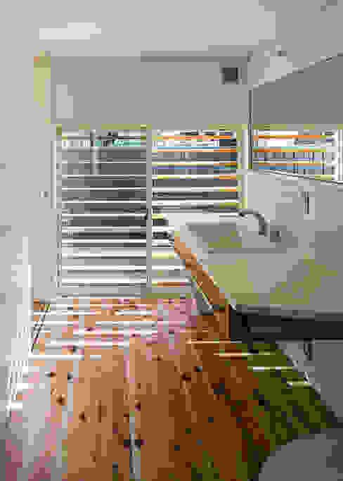 洗面・脱衣・洗濯・便所 オリジナルスタイルの お風呂 の 河合建築デザイン事務所 オリジナル