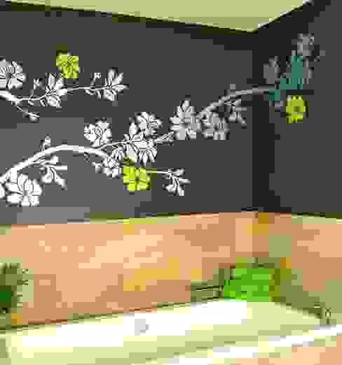 Salle de bain moderne par Murales Divinos Moderne