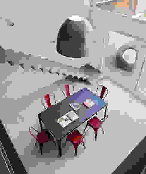 Maison de Village Salle à manger moderne par Lautrefabrique Moderne