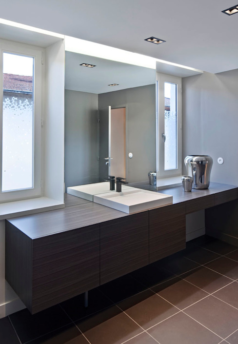 Projekty,  Łazienka zaprojektowane przez Lautrefabrique , Nowoczesny