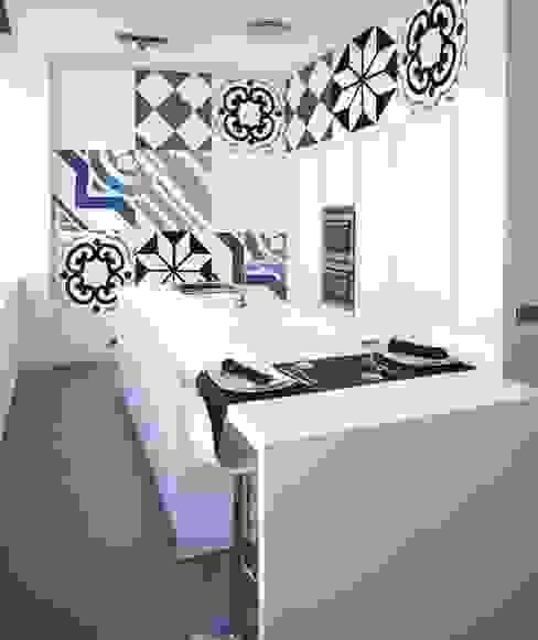 Minimalist kitchen by Murales Divinos Minimalist