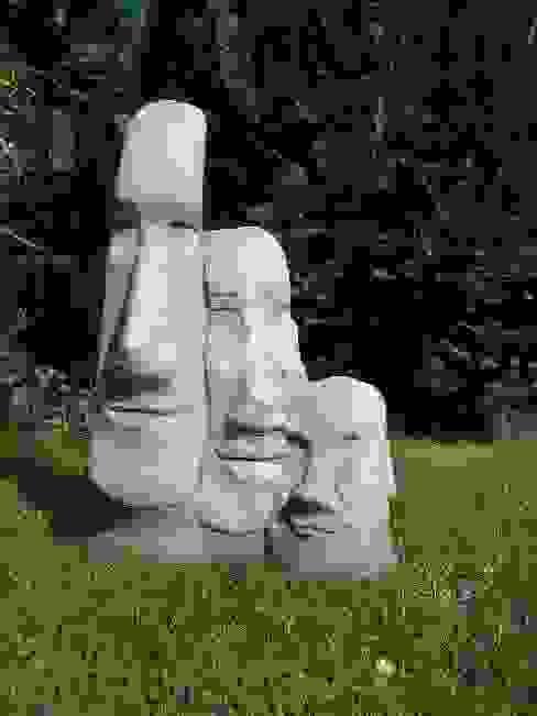großer Maoi - Osterinselkopf Steinfiguren Lessmann GartenAccessoires und Dekoration