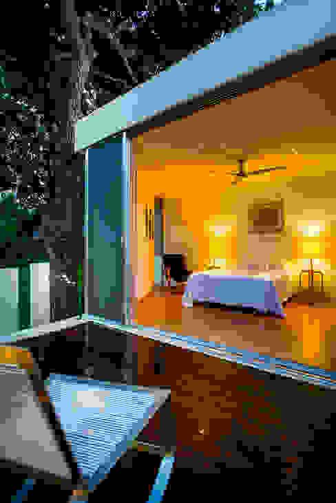 Terrasse de style  par Taller Estilo Arquitectura,