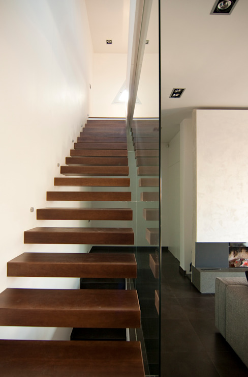 Corredores, halls e escadas minimalistas por eidée arquitectes S.L.P. Minimalista