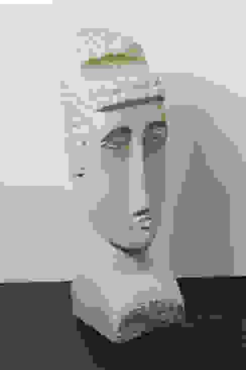 Kopf à la Modigliani / Sculpture à la Modigliani Ralf Steffens Kunst Skulpturen