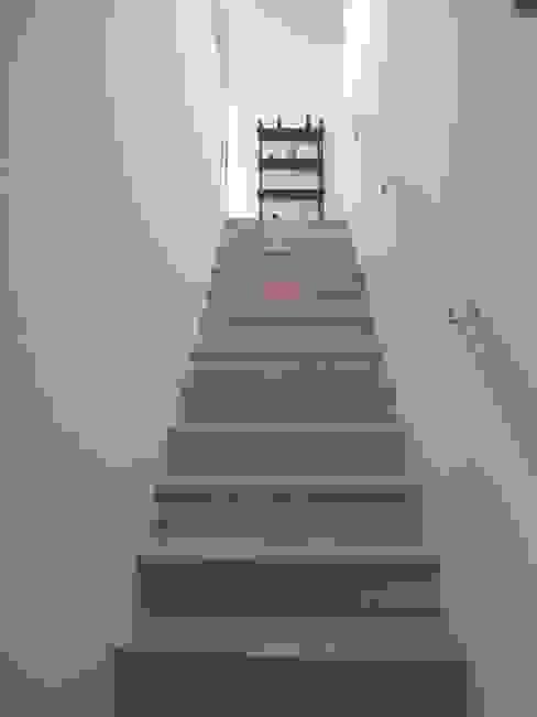 Modern Corridor, Hallway and Staircase by Architekturbüro Reinberg ZT GmbH Modern
