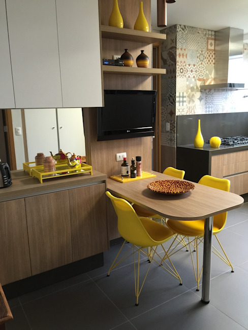 Kitchen by  Adriana Fiali e Rose Corsini - FICODesign