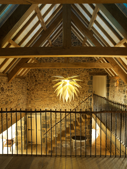 Lighting For Your Barn Style Ceiling