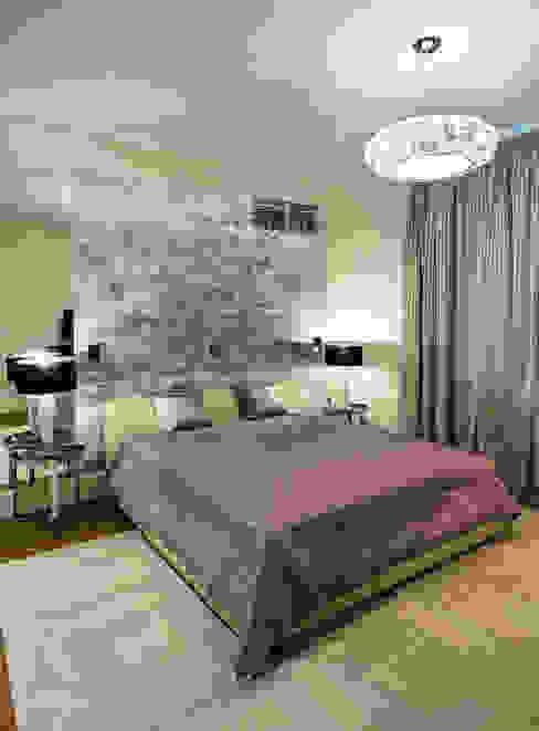 Квартира на Ломоносовском Спальня в эклектичном стиле от Надежда Каппер Эклектичный