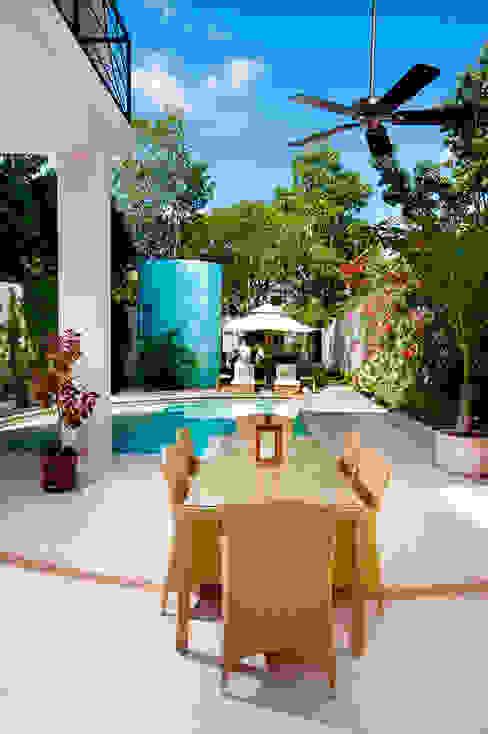 Balcone, Veranda & Terrazza in stile moderno di Taller Estilo Arquitectura Moderno