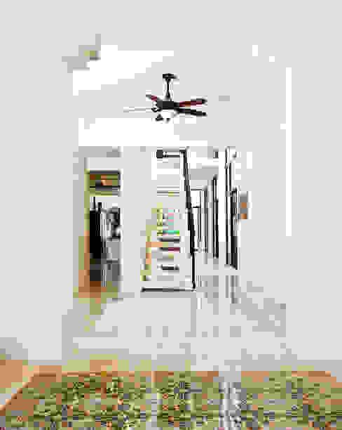 الممر والمدخل تنفيذ Taller Estilo Arquitectura,