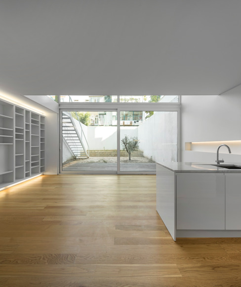 Lapa Building Salones de estilo minimalista de João Tiago Aguiar, arquitectos Minimalista