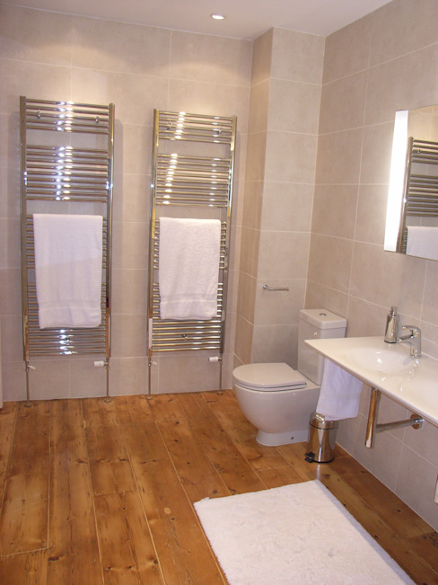 Towel warmers Modern Bathroom by Style Within Modern