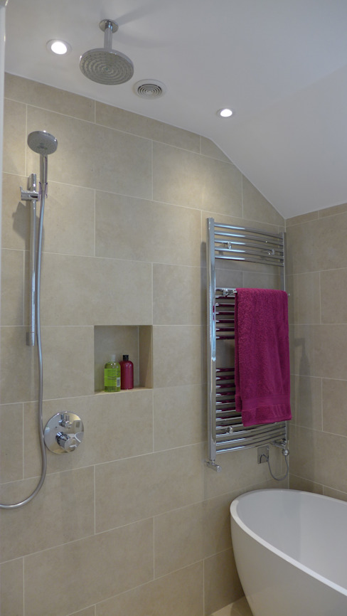 wet room Modern Bathroom by Style Within Modern