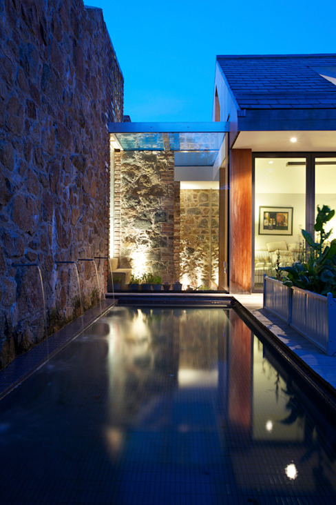 Maison Frie au Four Moderne huizen van CCD Architects Modern