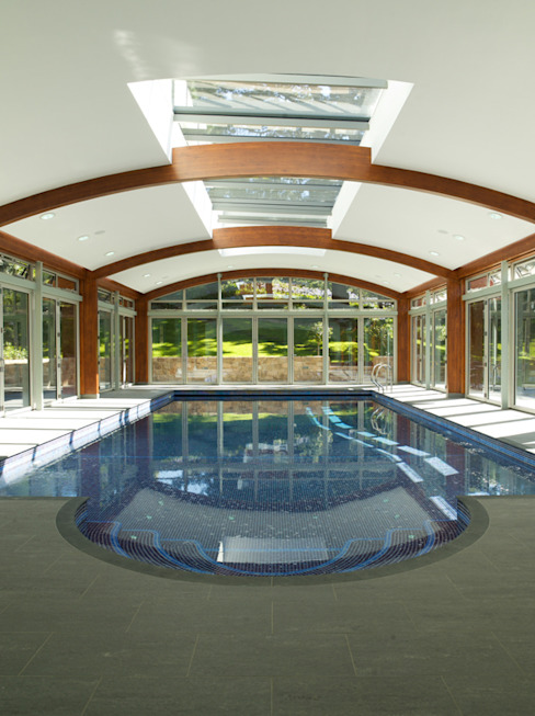 La Falaise Moderne zwembaden van CCD Architects Modern