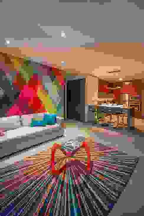 Sala de estar  por ESTUDIO TANGUMA,
