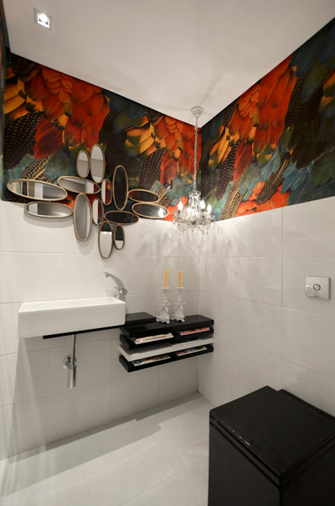 Bathroom by Johnny Thomsen Arquitetura e Design , Tropical