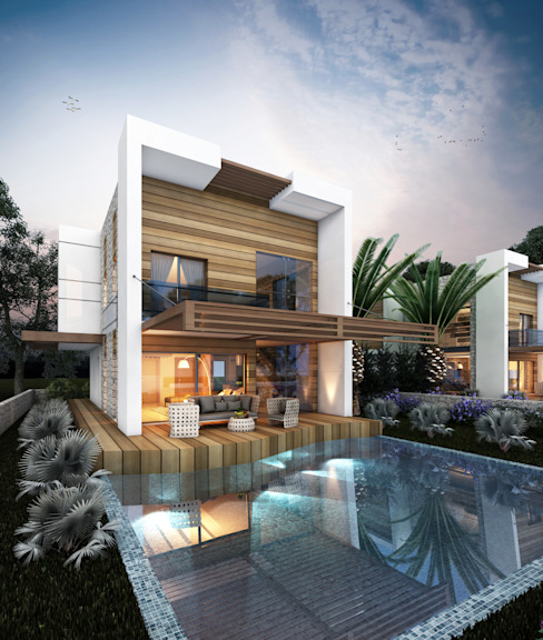 Houses by MİNERVA MİMARLIK,