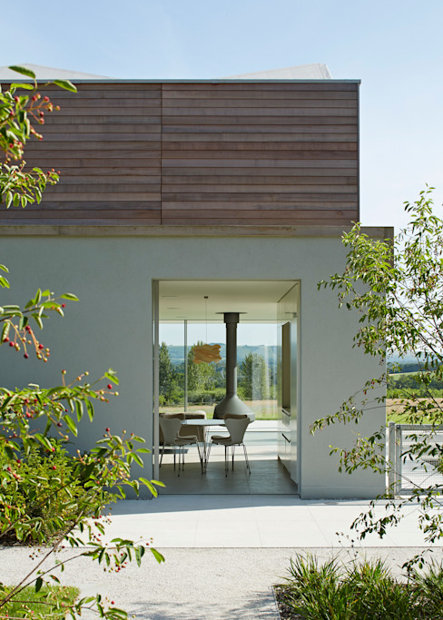 View to the South Downs Modern houses by Wilkinson King Architects Modern