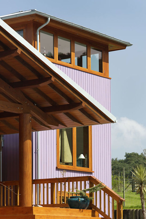 Hillside Farm Exterior Five Nowoczesne domy od DUA Architecture LLP Nowoczesny