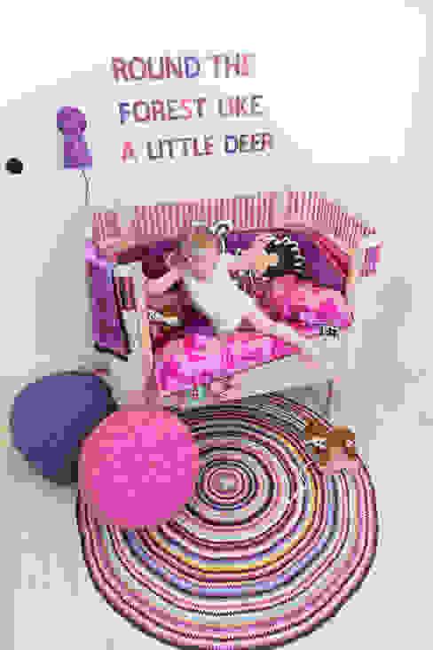 Mooie meisjeskamer met Sebra Kili bed van De Kleine Generatie Scandinavisch