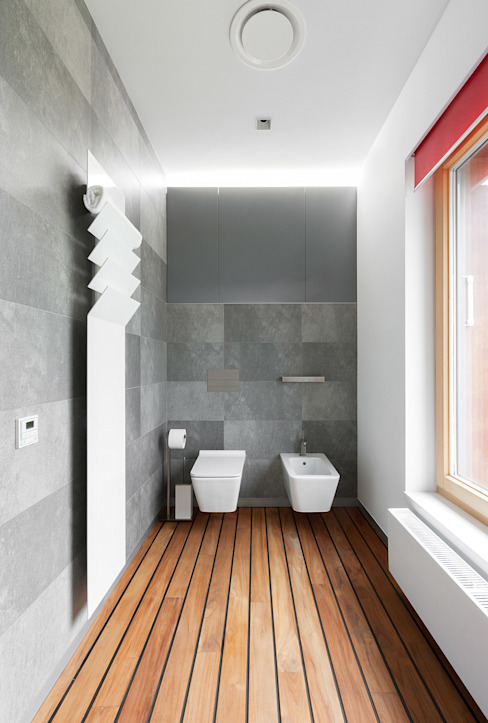 apartment V-21 Minimalist bathroom by VALENTIROV&PARTNERS Minimalist