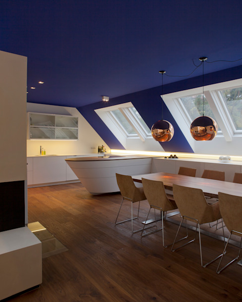 schröckenfuchs∞architektur Eclectic style dining room