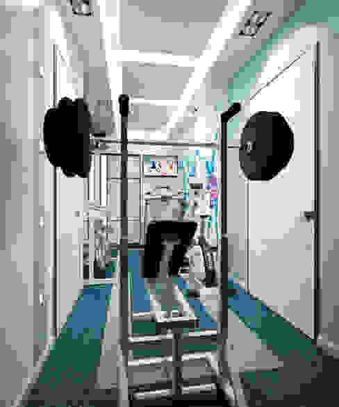 Minimalist media room by Студия архитектуры и дизайна ДИАЛ Minimalist