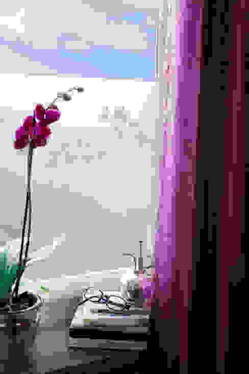 Orchids in Pots BY MAY/ Siluett Frost Window Film Windows & doorsWindow decoration